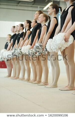 参加者 競争 十代の 立って ストックフォト © pressmaster