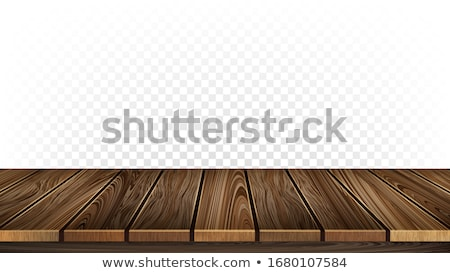 Wooden Stand, Brown Hardwood Floor Material Vector Stock photo © pikepicture