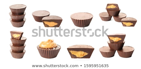 Stacks of peanuts Stock photo © leeser