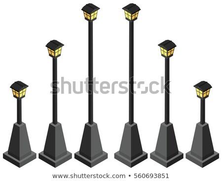 Lámpák gyűjtemény nézőpont kilátás izolált különböző Stock fotó © zakaz