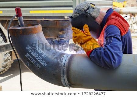 Welder at work Stock photo © lightpoet