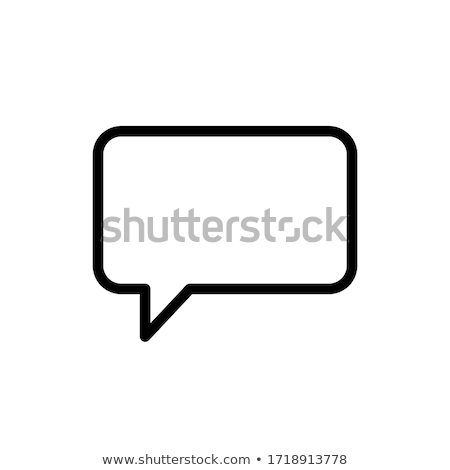 Stock photo: Smartphone With Speech Bubbles