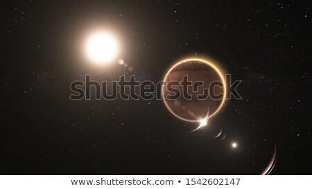 Mars and Sun Stock photo © cnapsys