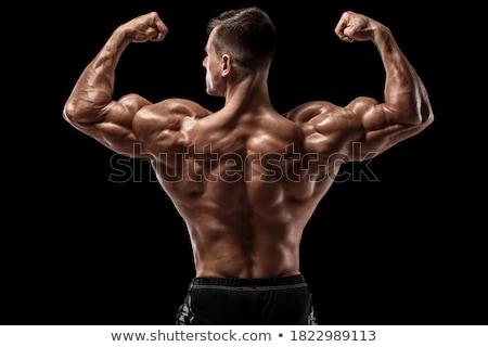 назад Культурист фото мышцы видимый человека Сток-фото © curaphotography