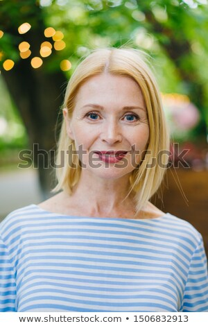Confident blond businesswoman outdoors Stock photo © photography33