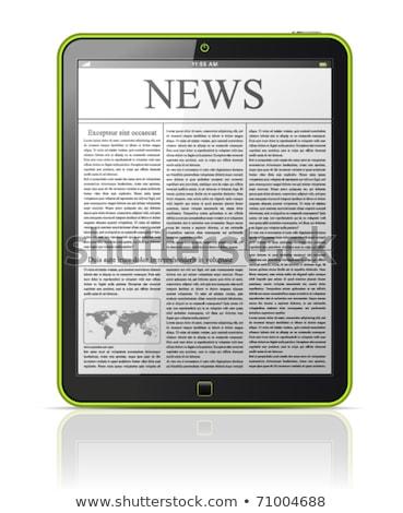 Vector algemeen gedetailleerd verschillend internet Stockfoto © tele52
