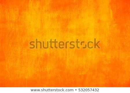 Orange background with grunge frame Stock photo © grivet