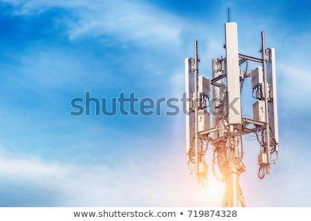 антенна · gsm · мобильных · телефония · технологий - Сток-фото © timbrk
