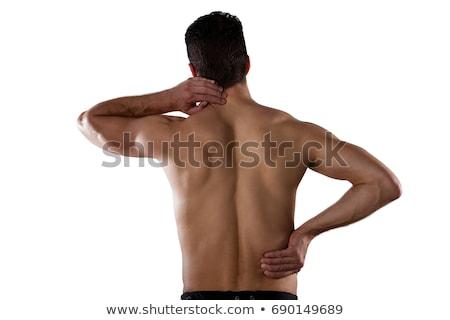 молодые · мужчины · страдание · белый · стороны - Сток-фото © wavebreak_media