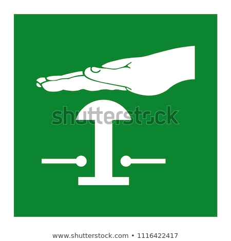 set of vector fire and stop buttons stock photo © elisanth