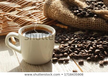 чашку · кофе · кофе · кофе · черный · темно · завтрак - Сток-фото © rob_stark