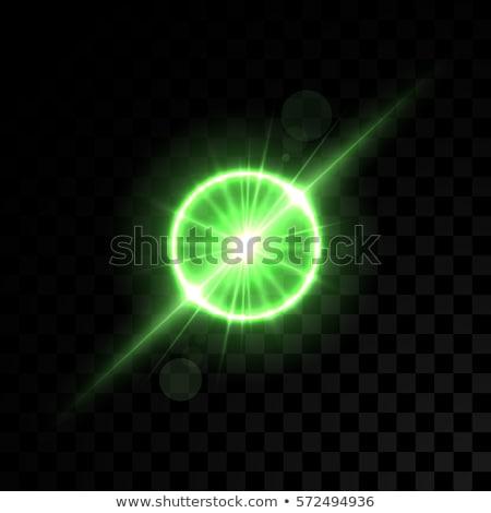 shining green lights Stock photo © marinini
