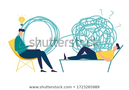 Professional psychiatrist Stock photo © pressmaster