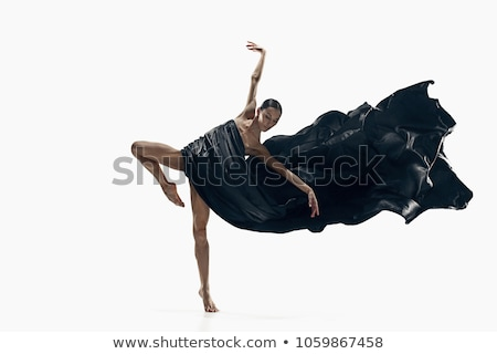 the dancer on a white background Stock photo © evgenyatamanenko