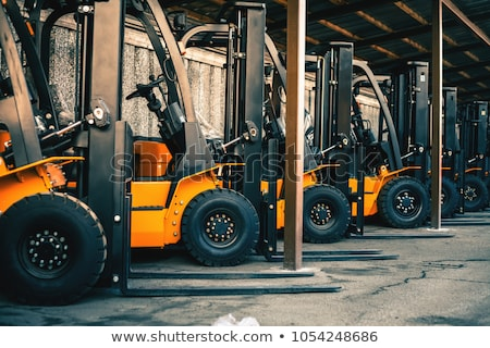 forklift truck stock photo © tainasohlman