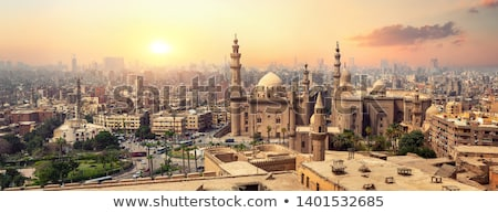 minare · Mısır · mimari · detay · Afrika · Bina · inşaat - stok fotoğraf © travelphotography