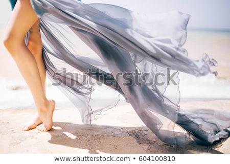 Nő lábak fehér copy space szexi divat Stock fotó © Nobilior