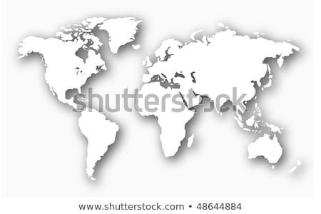 США · карта · Мир · цвета · Алабама · Аризона - Сток-фото © tilo