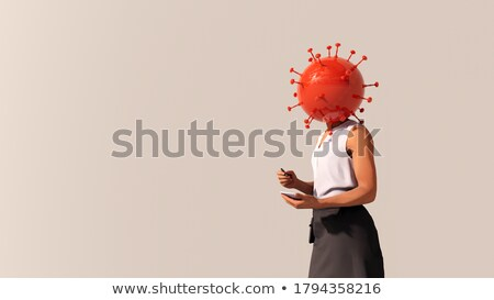 3D white people. Take risks in business metaphor Stock photo © texelart
