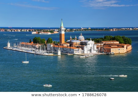 grand canal and san giorgio maggiore church stock photo © rglinsky77