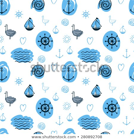 livro · para · colorir · submarino · marinheiro · água · sorrir · livro - foto stock © elenapro