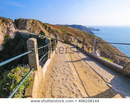 Sahil sahne bakıyor dışarı İngilizce kanal Stok fotoğraf © chris2766
