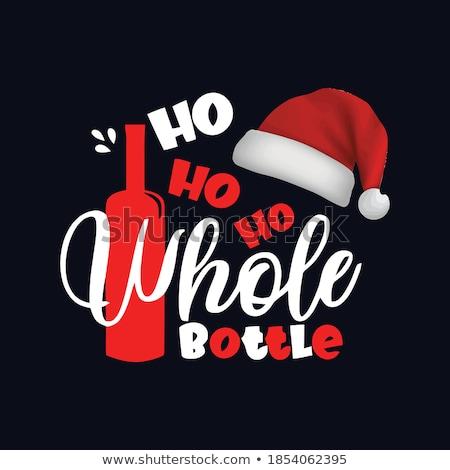 Bottle cap for christmas market Stock photo © Ustofre9