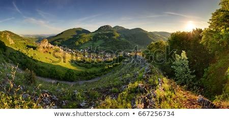 countryside landcape stock photo © xuanhuongho
