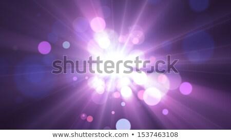 Viola luce raggi cielo abstract design Foto d'archivio © gladiolus