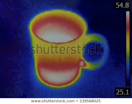 Teacup Infrared Image Stock photo © Suljo