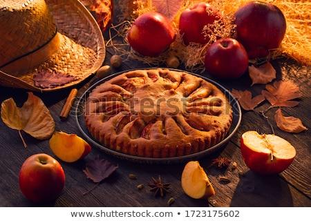 Frutta vintage legno autunno alimentare natura Foto d'archivio © fotoaloja