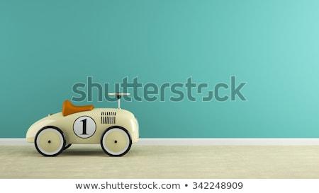 Toy retro car Stock photo © Supertrooper