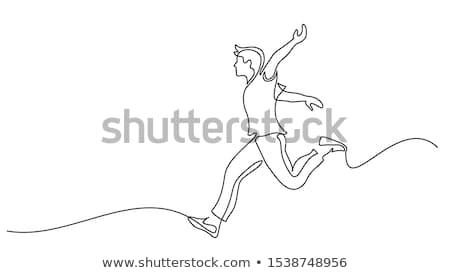 Figure of dancer stock photo © pressmaster