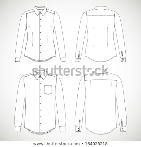 üzlet póló vektor divat vásárlás férfiak Stock fotó © Mr_Vector