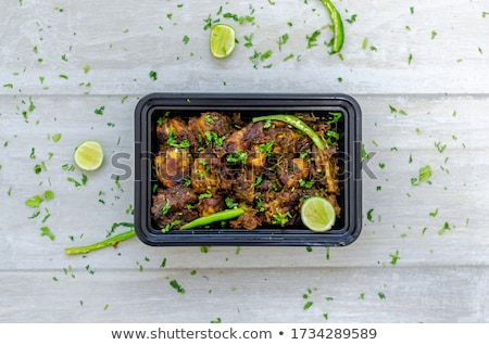 Montone alimentare ristorante cuoco Cina Foto d'archivio © wxin