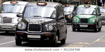 Londen taxi abstract afbeelding taxi Stockfoto © Stocksnapper