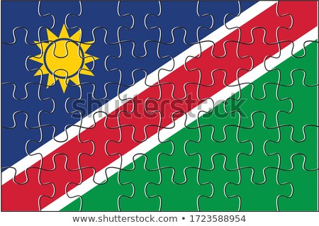 European Union and Namibia Flags in puzzle Stock photo © Istanbul2009