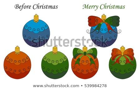 Сток-фото: стилизованный · Рождества · прибыль · на · акцию · бежевый · вектора