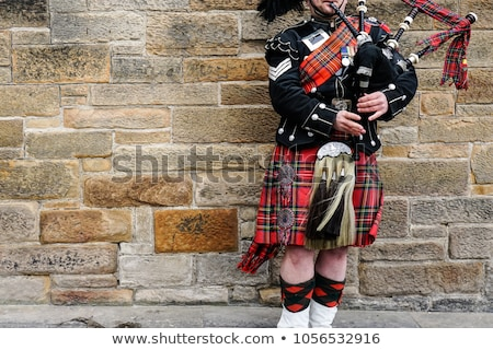 Piper in Scotland Stock photo © adrenalina