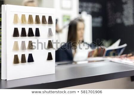 hairdresser preparing hair colour stock photo © wavebreak_media