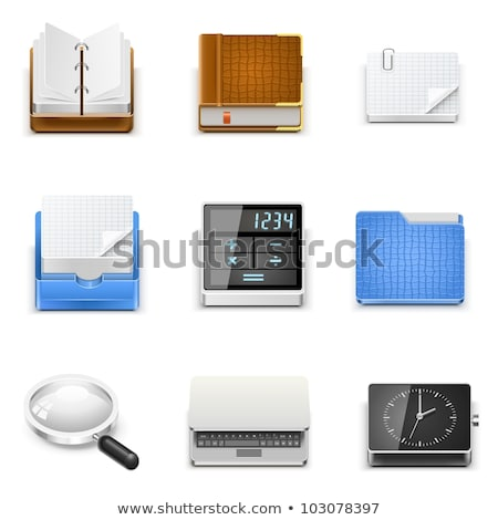 Realisic illustration calc Stock photo © smeagorl