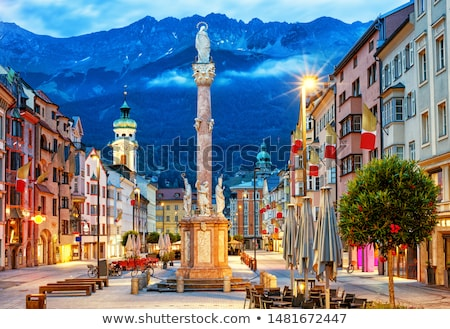 Historic Innsbruck Stock photo © manfredxy