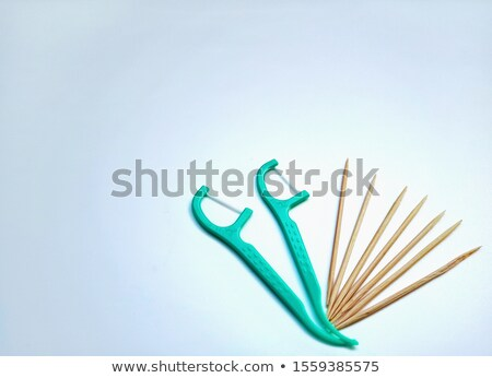 Wooden Toothpick Isolated Stock photo © PetrMalyshev