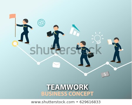 Supporting your business all the ways ! Stock photo © stockyimages