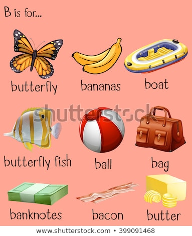 different words for alphabet b stock photo © bluering