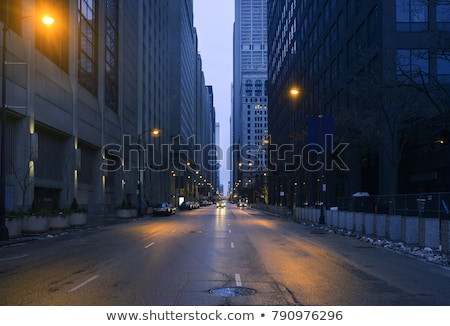 Night Photography Chicago Stock photo © pictureguy