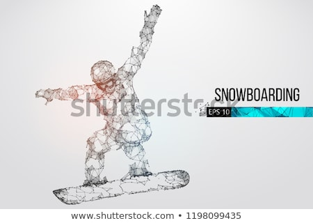 Girl on Trick Ski Stock photo © 2tun