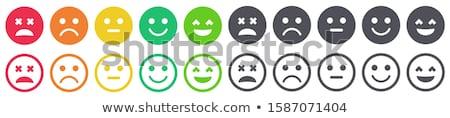 Cliente comentários ícone cinza botão projeto Foto stock © WaD