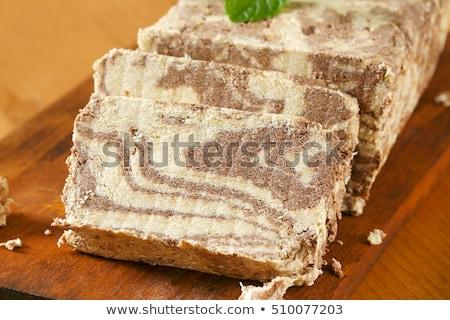 Márvány szezám cukorka édes görög organikus Stock fotó © Digifoodstock