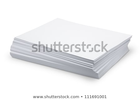 Stack of paper Stock photo © Epitavi